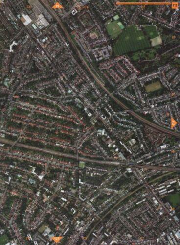 WILLESDEN GREEN NW2 NW6.Cricklewood Hampstead Cmtry Brondesbury Kilburn 2000 map