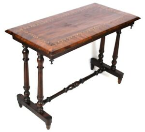 Antique-Victorian-palissandre-marqueterie-incrustee-Hall-Table-1090