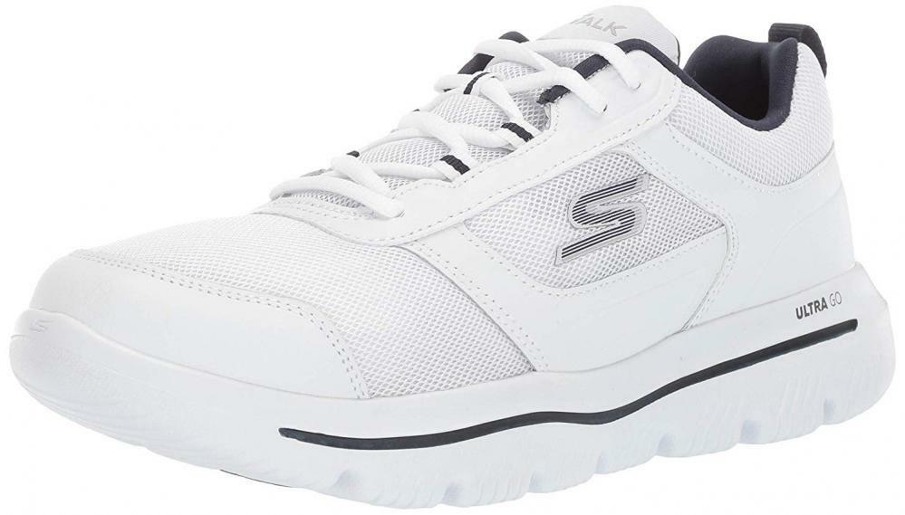 Skechers Men's Go Walk Walk Walk Evolution Ultra-Enhance scarpe da ginnastica Comfort Walking Casual 77e3ad