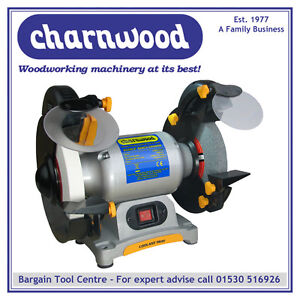 CHARNWOOD-BG200-8-BENCH-GRINDER