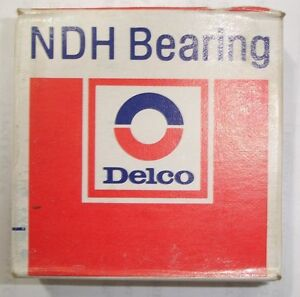 NEW-NDH-Delco-Z499502-single-Row-Ball-Bearing-Sealed-Ships-Today