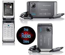 Sony ERICSSON w380i Grey magnetico (senza SIM-lock) 3 nastro Walkman RADIO COME NUOVO OVP