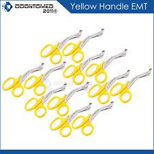 12 New Utility Scissors Emtems Shears 55 Yellowbandage Paramedic Supply Eco