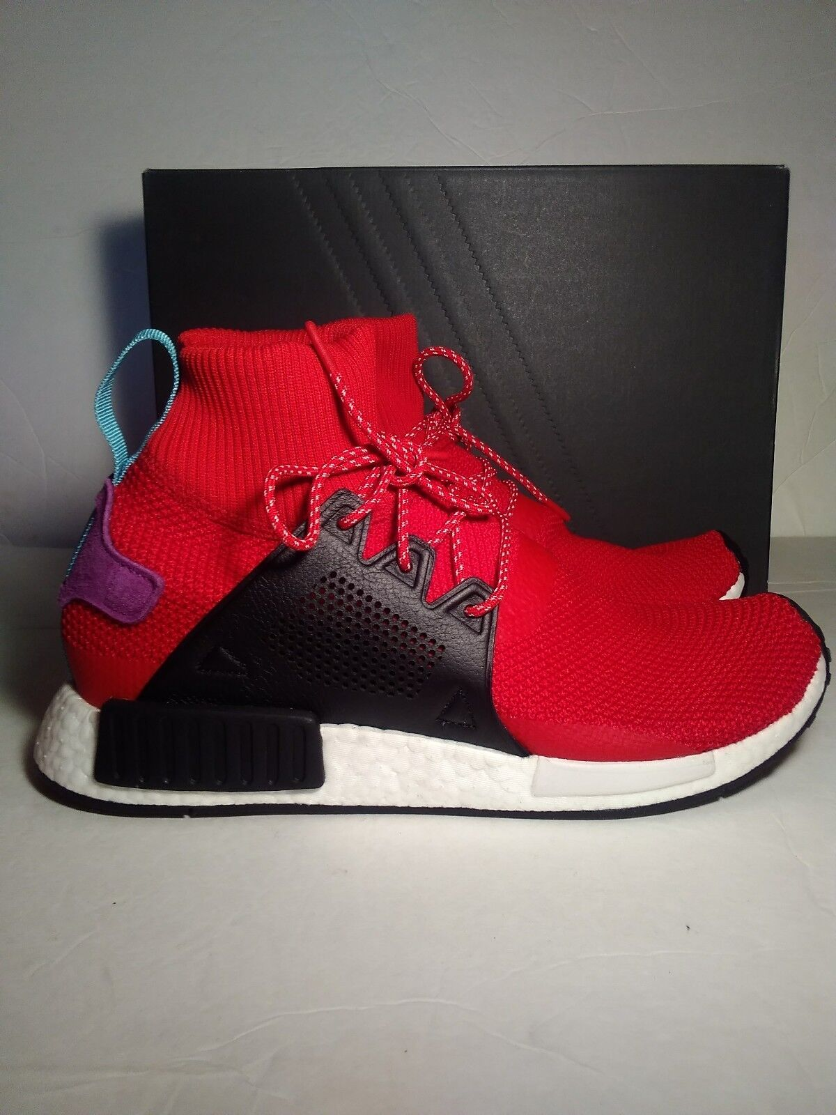 Adidas Originals NMD XR1 Winter  Trainers Red Men Size 11.5