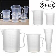 1 Set 5 Sizes Measuring Beaker Measuring Cups