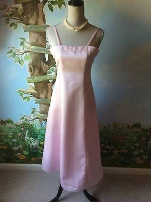 Davinci Junior Flower Girl Dresses Pink Long Dresses Size 8 New