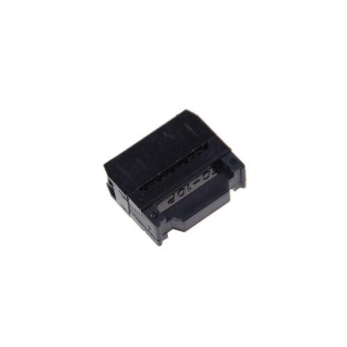 10X FC-10P IDC 2.54mm Connector Female Header 10pin 2x5 JTAG ISP Socket YF