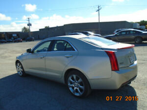 Cadillac ATS 4x4 2013 14500$