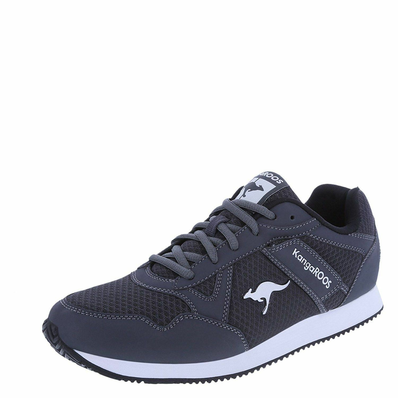 KangaRoos NEW Size 10.5 Men's Retro Throw Back Tennis Shoes Running Walking Grey