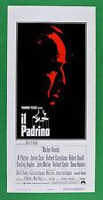L29 LOCANDINA IL PADRINO THE GODFATHER 1° EDIZIONE ITALIANA 1972 FIRST EDITION
