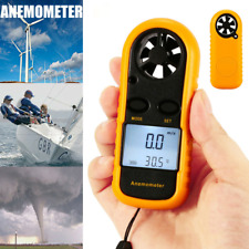 Digital Wind Speed Anemometer Meter Thermomoter Handheld For Sailing Surfing