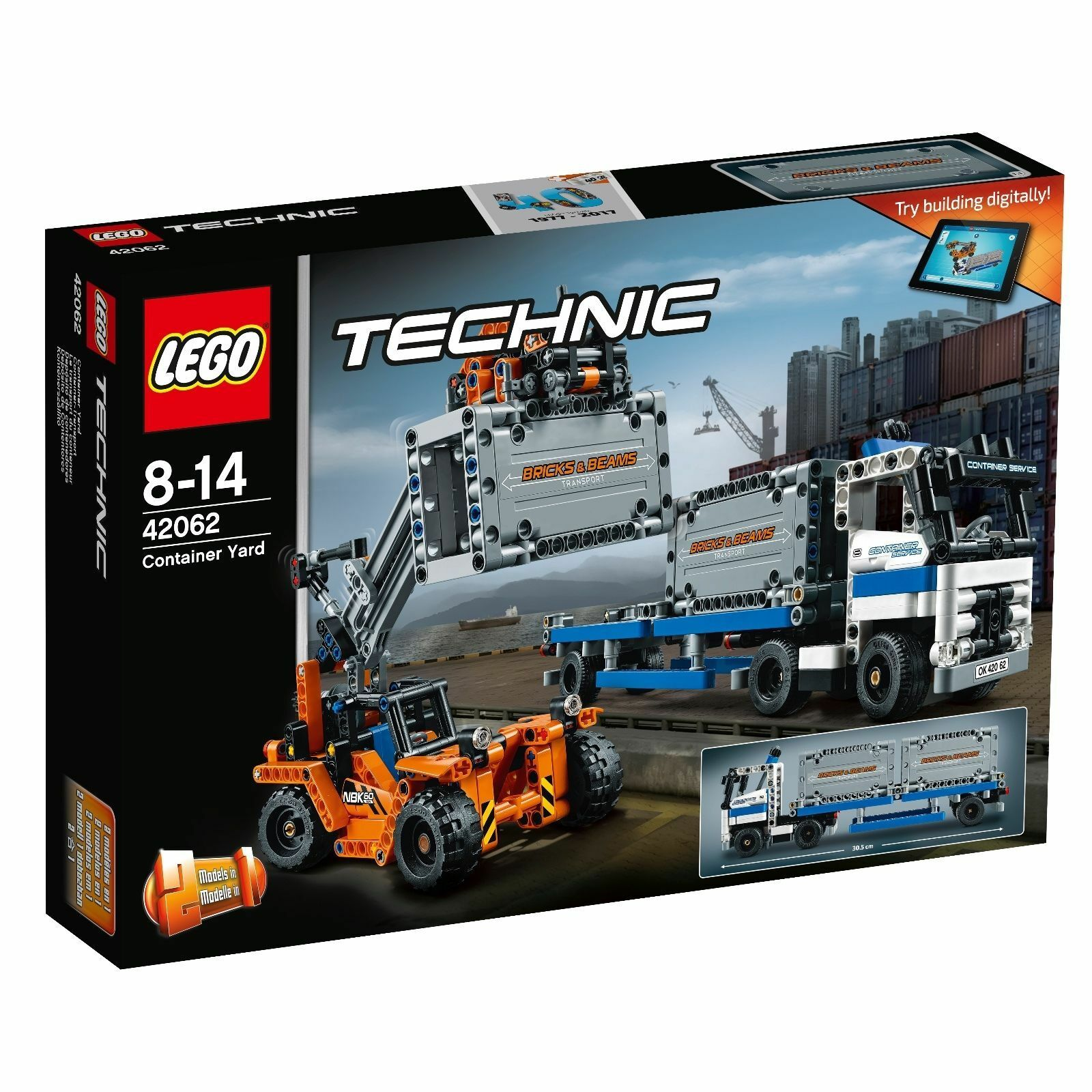 LEGO® LEGO® LEGO® Technic 42062  Container-Transport  2-in-1-Modell NEU OVP NEW MISB a942ba