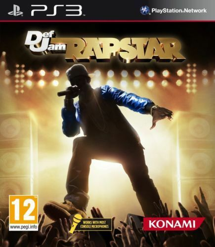 Def Jam Rapstar (Sony PlayStation 3) GAME ONLY *NEW & SEALED*