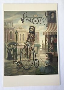 Mark Ryden The Meat Shop Oversized Postcard The Gay 90's 1st Printing Mini Print