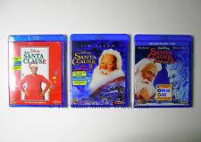 Tim Allen Disney THE SANTA CLAUSE Trilogy Three 3 Christmas Movies on Blu-ray