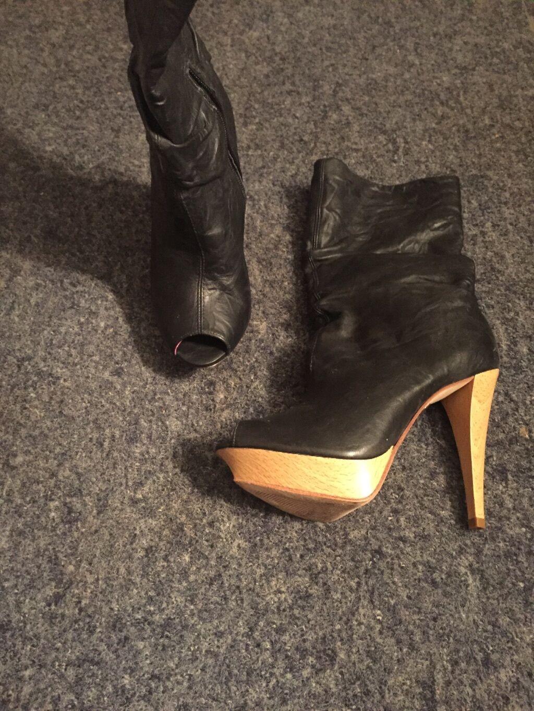 Diseñador Diseñador Diseñador de cuero de las Señoras botas Talla 5  la calidad primero los consumidores primero