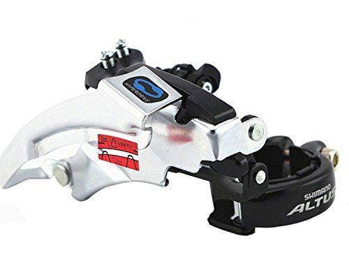 Shimano Altus FD-M190A Top Swing Front Derailleur 31.8//34.9mm 9-speed Clamp