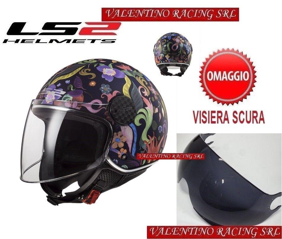 M Fucsia LS2 Caschi Moto OF558 SPHERE LUX Rosa