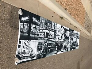 RARE 16 ft. x44 in. WALGREENS STORE DISPLAY VINTAGE 1950's ADVERTISEMENT BANNER