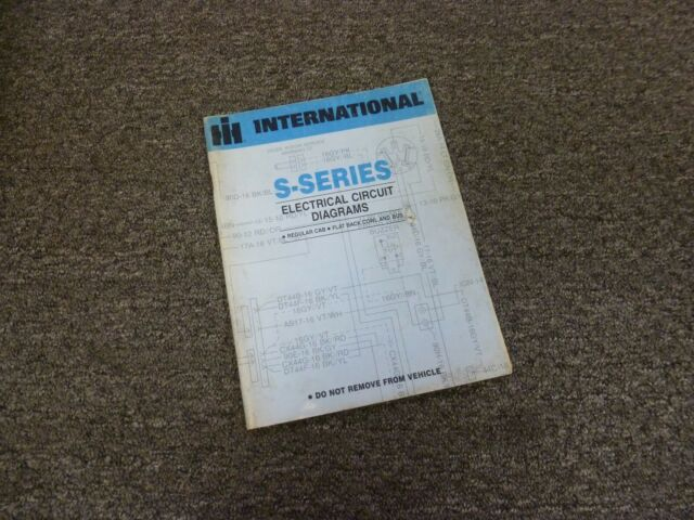 1979 International 1754 1823 1824 1853 Truck Electrical
