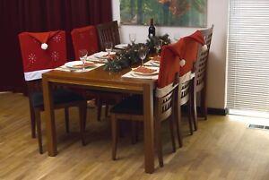 1-X-Navidad-Novedad-Santa-Sombrero-De-Navidad-Comedor-Silla-Cubierta-Decoracion-cena-de-trabajo