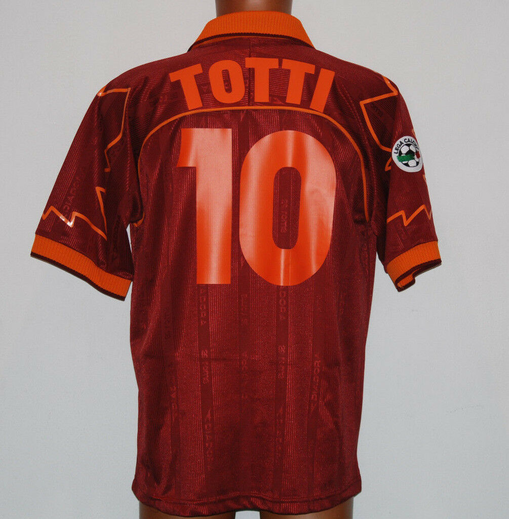 Maglia TOTTI roma diadora 1999 2000 XL ina assitalia serie A player issue worn