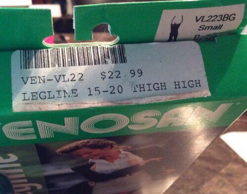 Venosan Legline ThighW//Siliconetop Compression Stocking SM Closed Toe 15-20 mmHg