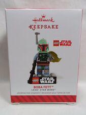 2014 HALLMARK Keepsake Ornament Boba Fett Lego Star Wars Loc B38