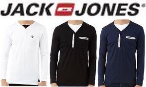 Jack-and-Jones-Mens-Long-Sleeve-L-S-T-Shirt-Top-BNWT-RRP-20-50-OFF-SALE