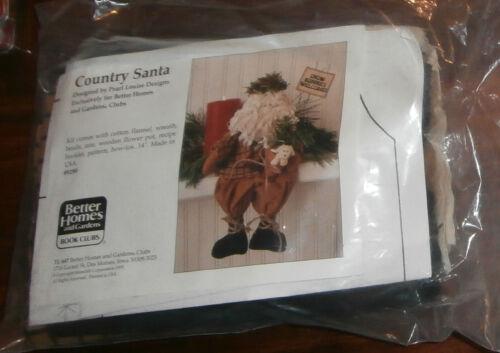 Country Santa Kit Better Homes /& Garden Opened Christmas