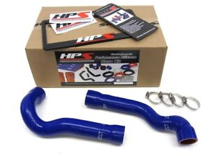 HPS SILICONE RADIATOR HOSE KIT W// CLAMPS 99-06 BMW E46 323 325 328 330 M3 BLK