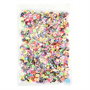 1000PCS-3D-Fruit-Animals-Fimo-Slice-Clay-DIY-Nail-Art-Tips-Sticker-Fashion-Decor