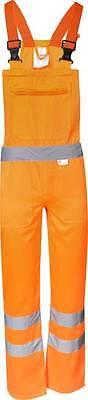 20% Baumw Fb 52 Bis 58 Profit Small Orange Gr Warnschutz-latzhose 80% Polyester