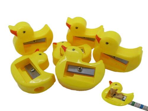 Anspitzer Ente gelb Mitgebsel Kindergeburtstag Schule Enten Giveaway Tombola