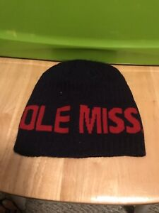 New With Tags Ole Miss Rebels Beanie Sock Hat..By The Game! New With Tags!
