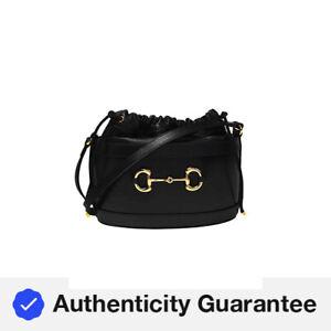 Gucci 1955 Horsebit Shoulder Bag 602118 1DBLG 1000