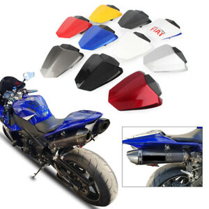 Rear-Pillion-Passenger-Cowl-Seat-Back-Cover-For-Yamaha-YZF-R1-2009-2014-10-11