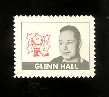 1969 70 TOPPS OPC O PEE CHEE HOCKEY GLENN HALL STAMP UNUSED EX-NM ST LOUIS BLUES