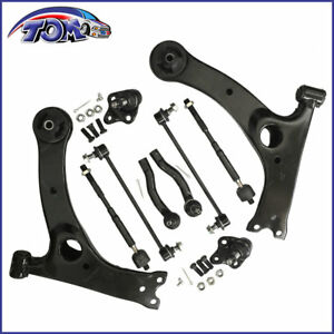 NEW-10PCS-CONTROL-ARM-BALL-JOINT-SWAY-BAR-TIE-ROD-KIT-FOR-03-08-TOYOTA-COROLLA
