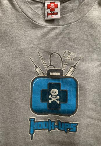 VTG Hook-Ups Hook Ups Sz XL Skull Medic Kit Anime