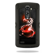 Skin Decal Wrap for OtterBox Defender LG G3 Case cover Tribal Dragon