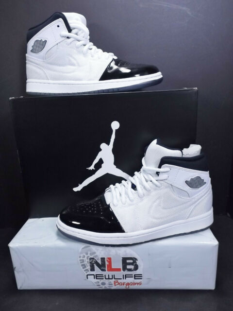 Nike Air Jordan 1 Retro 95 TXT White Black Dark Concord 616369 195 ... 77057c938