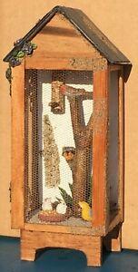 1:12 Scale Small Hand Made Aviary /& Birds Tumdee Dolls House Garden Accessory
