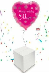 Butterflies Happy Birthday Helium Inflated Balloon in a Box