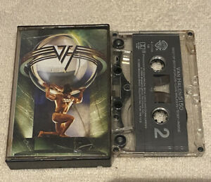 Van Halen 5150 CASSETTE Tape Original 1986 Warner 9 35394 RARE! Sammy Hagar