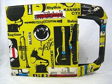 Rare 60´s design Blues # Jazz # Ragtime 7inch record case / Schallplatten Mappe