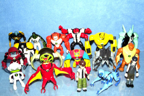 BEN 10 SELECTION OF FIGURES BUY 2 GET 1 FREE CHOOSE FROM THE DROPDOWN