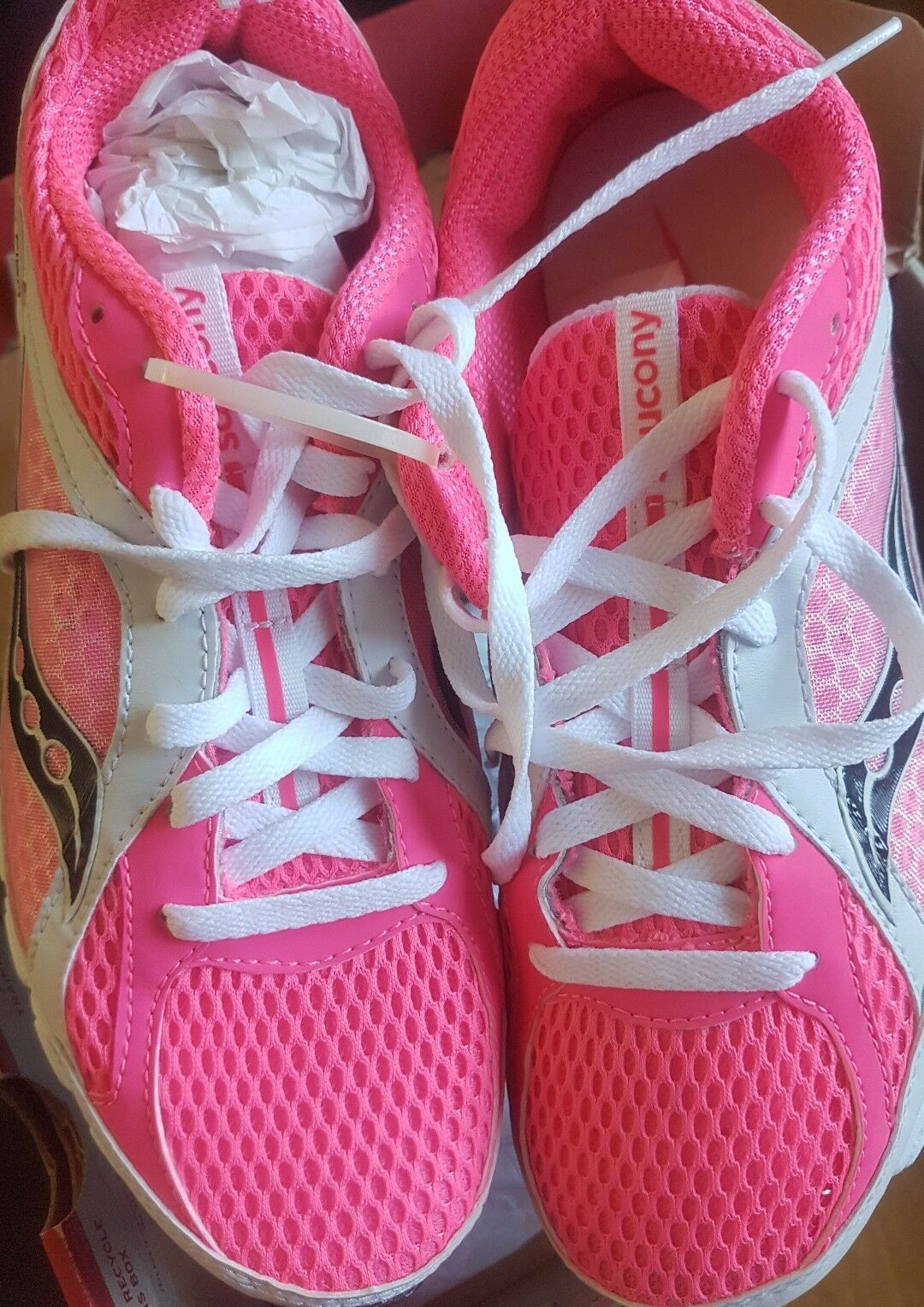 Saucony Grid Fiya Women´s Running Sport shoes Trainers Run pink BNIB
