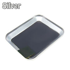 Aluminium RC Model Screw th Square Tray With Magnetic Pad for Phone/Car Repair I