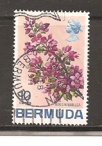 Bermuda Stamps- Scott # 262/A41-10c-Canc/LH-1970-NG